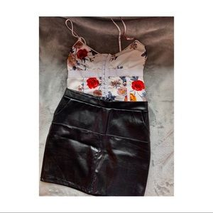 Fashion Nova Black Mini Skirt